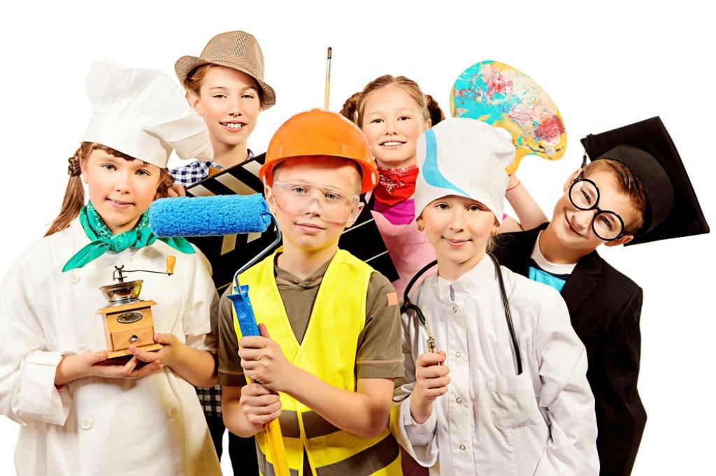 профориентация в начальной школе в картинках порция прикольных